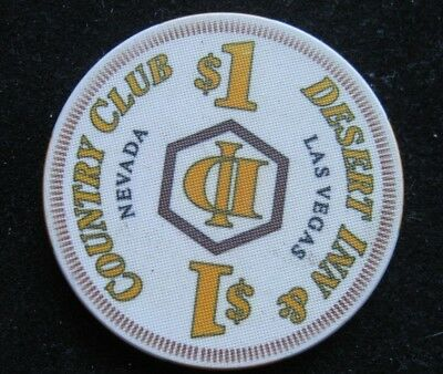 Desert Inn Country Club $1 DI Casino Chip Las Vegas, Nevada