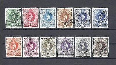 SWAZILAND 1938-54 SG 28/38 USED Cat £49.50