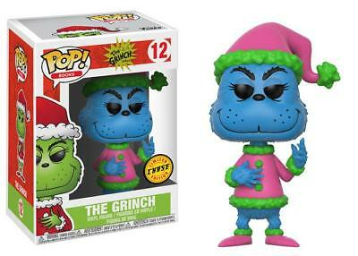 "New Pop Books: The Grinch - Santa Grinch 3.75"" Funko Vinyl CHASE"