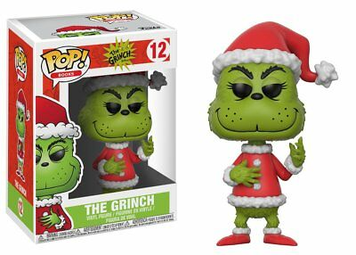 "New Pop Books: The Grinch - Santa Grinch 3.75"" Funko Vinyl COLLECTIBLE"