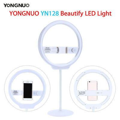 YONGNUO YN128 Camera Photography LED Ring Light For iPhone Sumsang Phone DSLR