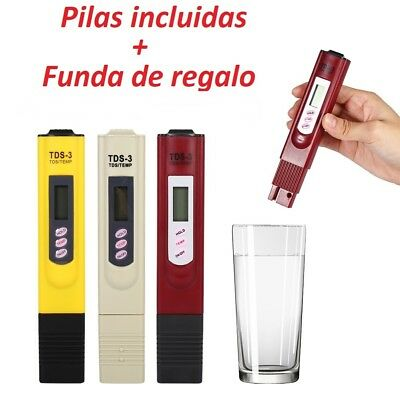 Meter TDS - PH, control of quality water and ph, Swimming pools/Aquario