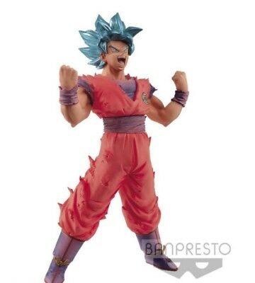 PRE-ORDER ORIGINAL Dragonball Figur Blood of Saiyans Son Goku Gott Kaioken Blue