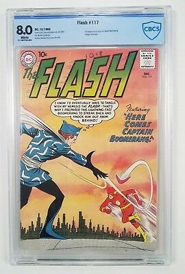 FLASH #117 CBCS 8.0 (no CGC)