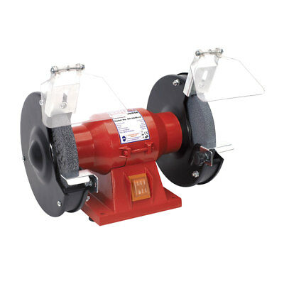 "150Mm 6"" Workshop Bench Grinder With Twin Grinding Stones Coarse/fine 150W 230V"