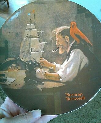 Bradford exchange Norman Rockwell Knowles  1980 collectible plates SALE