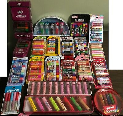 New -  Lip Smacker Lip Balm Party Pack 8 pieces in each pack - You choose flavor