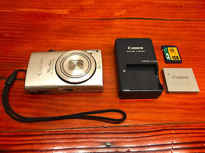 Canon Powershot ELPH 310 HS 12.1 MP Digital Camera Silver  **FAST SHIPPING**