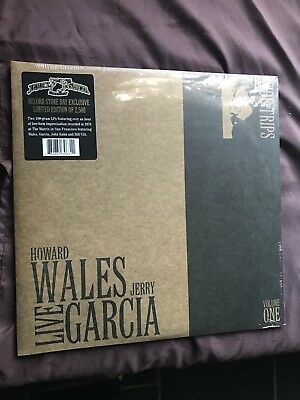 Jerry Garcia Howard Wales Side Trips Vol 1 RSD 2 Lp 180g vinyl Grateful Dead