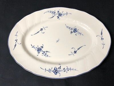 Villeroy and Boch Oval Serving Platter - Vieux Luxembourg Pattern