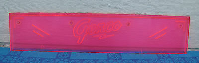 Genco Circus Rifle Gallery Arcade Game Marquee Name Plaque