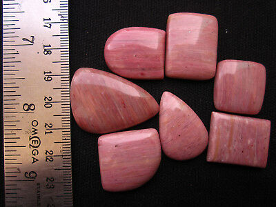 100% Natural Genuine Rhodonite Mix Shape Cabochon Loose Gemstone Lot GV98(3)