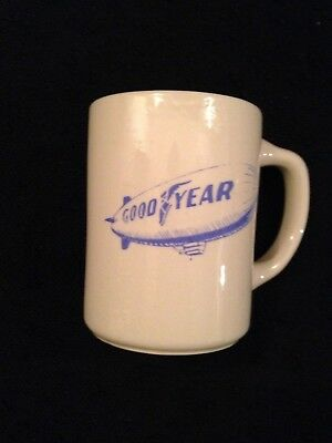 Vintage Rare Good Year Blimp Mug, Made USA