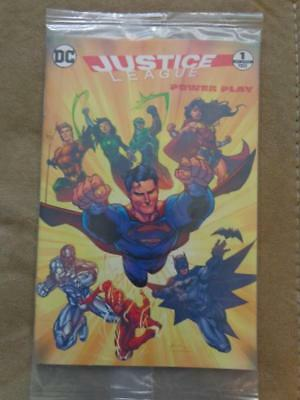 General Mills Dc Comics Justice League Power Play 1 Of 4 Sealed Free Shipping!