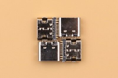 4Pcs Type C USB 3.1 Interface Female Socket 24Pin PCB Mount Solder Connector