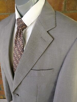 Size 40 PAUL SMITH (Made In Italy) Men's Grey Blazer (Suit-Jacket) 100% Wool
