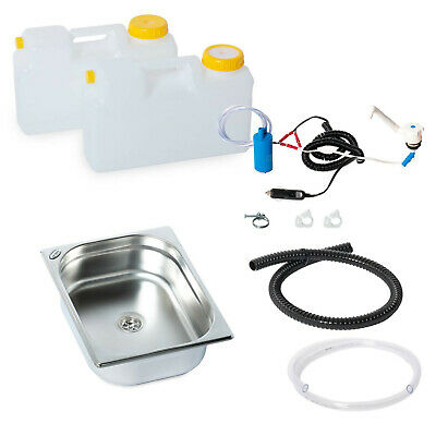 Top Affaire Mini Cuisine Bloc de Camping Kit Montage Évier 325x265x100mm Novo