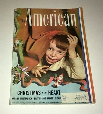 The American Magazine Vintage Issue January 1941 Christmas in the Heart