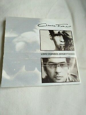 """Climie Fisher - Love changes (everything) 7"""" Vinyl Single near  mint"""