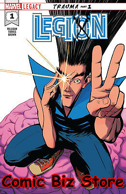 Legion #1 (Of5) (2018) 1St Printing Marvel Legacy Tie-In Bagged & Boarded