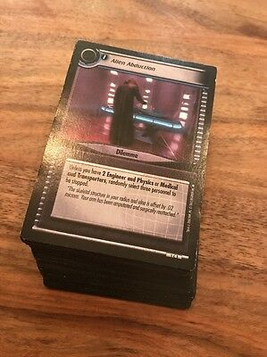 Star Trek CCG 2E -2nd Second Edition Premier Collection Complete Common Card Set