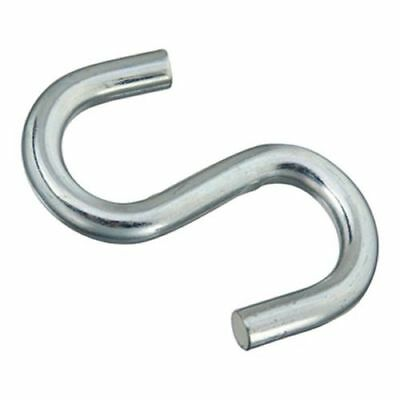 "2 National N347-856 4"" ZINC Open S-Hook [kc1a]"