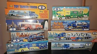 Sunoco Toy Truck Collection 1-8 All work!! FREE Shipping