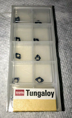 10 Pcs New Tungaloy Xpmt04 Indexable Drill Inserts For Tdx Drilling System