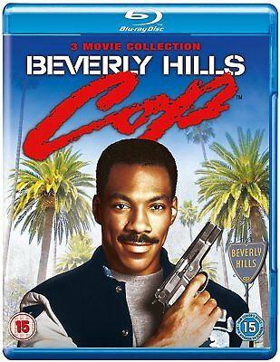 BEVERLY / BEVERLEY HILLS COP - The Complete Film Movie Trilogy 1-3 BLU RAY NEW