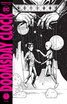Doomsday Clock #4 (of 12) The Question 'B' variant IN STOCK Ships NOW!! Watchmen