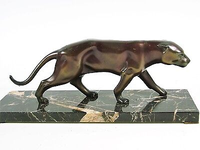 Original French Art Deco Strowling Panther c.1925