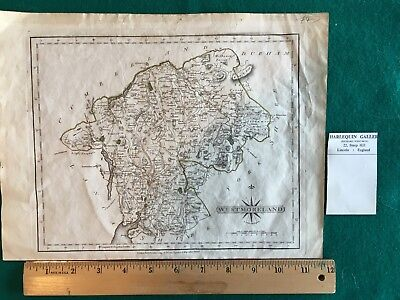 Westmorland, 1793, J Cary engraver & map seller.  Hand colored.