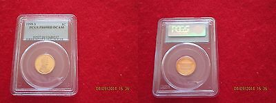 US Coins: Certified PCGS 1998s PR69RD DCAM Lincoln Memorial Cent