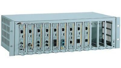 Allied Telesis AT-MCR12-10media converter rack-mount chassis