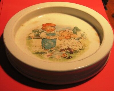 """Vintage Buffalo Pottery Cereal Bowl 7.5"""" x 1 3/8"""""""