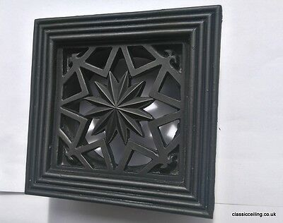 """Wall Vent Ducting Cover Bathroom Extractor Fan Ducting 4"""" or 5""""Spigot star"""