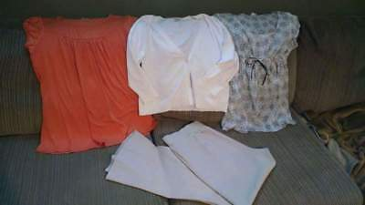 Motherhood & Mimi maternity clothing lot tops and pants size large
