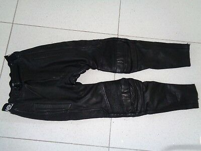 Uvex Leather Bikers  Trousers  48