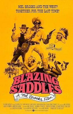 "Blazing Saddles ( 11"" x 17"" ) Movie Collector's Poster Print (T2) - B2G1F"