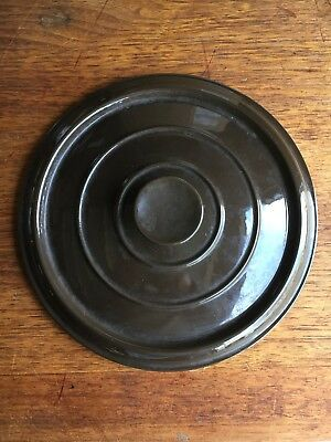VINTAGE Le Creuset French Dutch Oven Cast Iron LID Replacement #26 5.5qt  BROWN