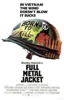 """Full Metal Jacket ( 11"""" x 17"""" ) Movie Collector's Poster Print  - B2G1F"""