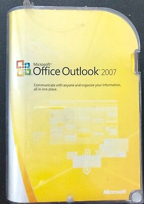 Microsoft Office Outlook 2007 with CD and Key
