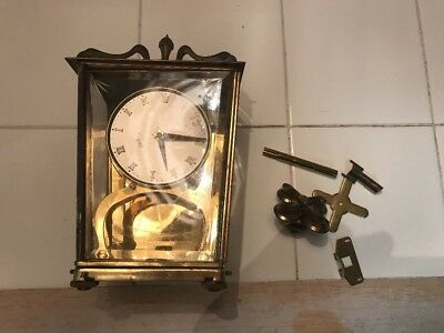 Schatz Sohne Germany 400 Day Anniversary Lantern Clock - Sold As Is