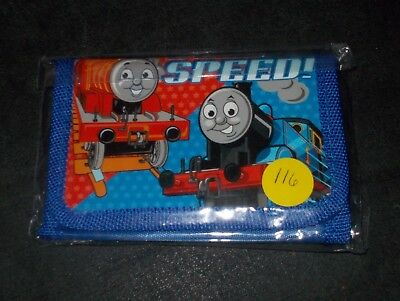 New without tags,Thomas Train Trifold Wallet, Zipper Compartment, 3 Slots, (116)