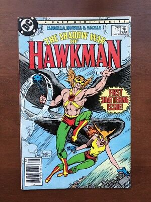 Shadow War Of Hawkman #1 (1985) 8.5 VF DC Key Issue 1st Comic Book High Grade