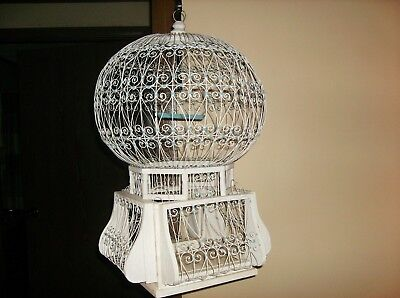 BIRD CAGE SHABBY CHIC, VINTAGE VICTORIAN STYLE WOOD & WIRE Weddings,Decor