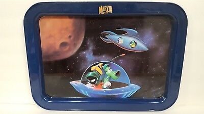Marvin the Martian metal TV tray