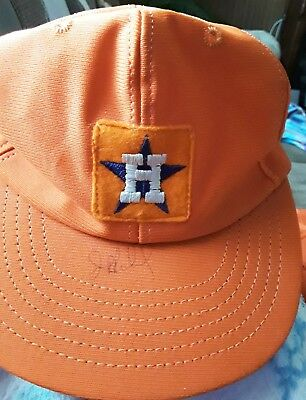online store a5976 97728 Vintage Signed!!!!! Houston Astros Slouch Hat Cooperstown Collection