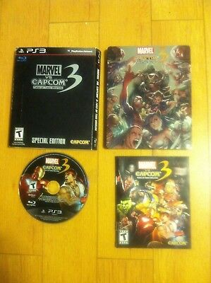 Marvel vs. Capcom 3: Fate of Two Worlds -- Special Edition Steelbook (PS 3)