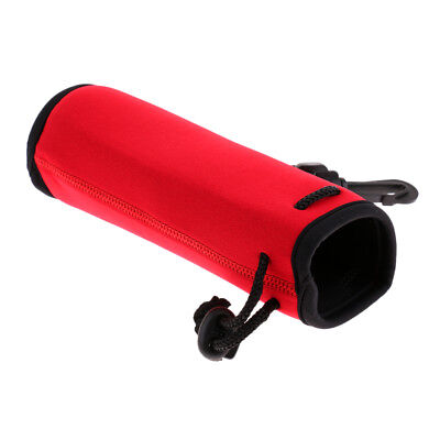 Baoblaze Sport Water Bottle Cover Neoprene Insulated Sleeve Bag Pouch Red